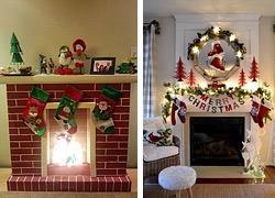 Πώς να φτιάξετε ένα ψεύτικο χριστουγεννιάτικο τζάκι που θα μοιάζει με αληθινό!