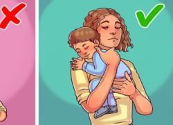 6 συνηθισμένοι τρόποι που κρατάμε ένα μωρό και μπορεί να βλάψουν την υγεία του