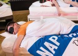 Γυμναστήριο προσφέρει τμήμα... ύπνου σε κουρασμένους γονείς!