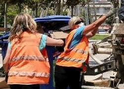 Συγκινητικό σημείωμα κατοίκων προς τους ανθρώπους που καθαρίζουν τη γειτονιά τους