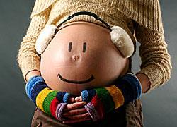 Χειμωνιάτικα ρούχα εγκυμοσύνης που κολακεύουν την κοιλίτσα