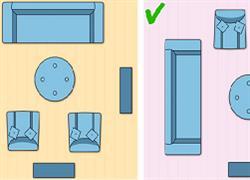 Πώς να κάνεις το σαλόνι σου να φαίνεται πιο ευρύχωρο!