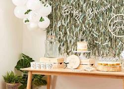 Botanical baby shower διακόσμηση: Πώς θα φτιάξετε το πιο όμορφο σκηνικό στον κήπο