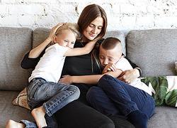 «Όσα λάθη κι αν κάνω με τα παιδιά μου δεν αλλάζουν το γεγονός ότι τα λατρεύω»