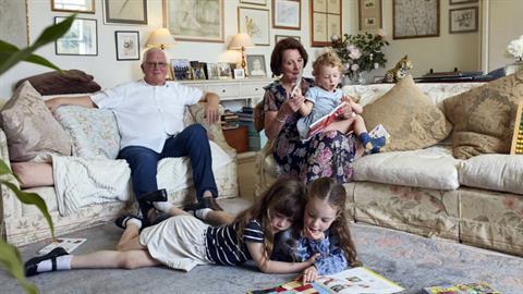 Για ένα παιδί το σπίτι του παππούδων του είναι το πιο χαρούμενο μέρος στον κόσμο