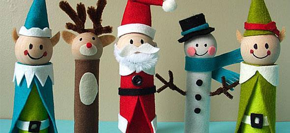 Πρωτότυπες χριστουγεννιάτικες κατασκευές για παιδιά