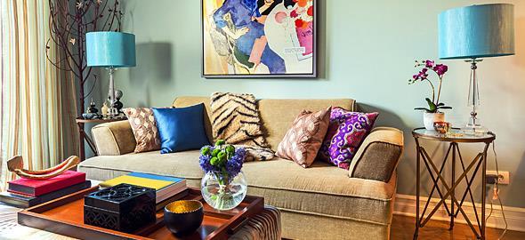 Πρωτότυπες και οικονομικές ιδέες διακόσμησης για το σαλόνι σας