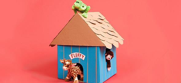 10e0aabd3f41 5 εύκολες κατασκευές για παιδιά από χαρτόκουτα