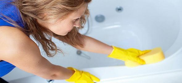 Πώς να καθαρίστε εύκολα και σωστά την μπανιέρα σας