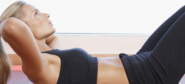 6 εύκολες ασκήσεις για επίπεδη κοιλιά