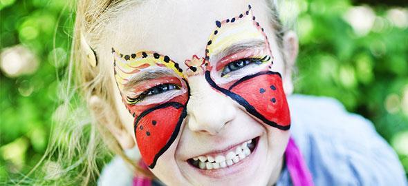 Αποκριάτικο face painting για παιδιά: Δείτε στο βίντεο πώς να το κάνετε!