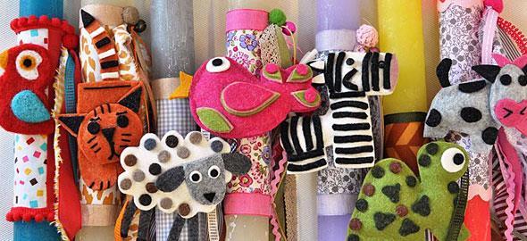 Οι 9 ομορφότερες πασχαλινές λαμπάδες για παιδιά!