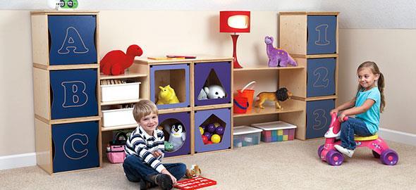 16 πανέξυπνες ιδέες οργάνωσης για το παιδικό δωμάτιο