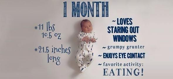 Πώς να φωτογραφίσετε το μωρό σας τους πρώτους 12 μήνες