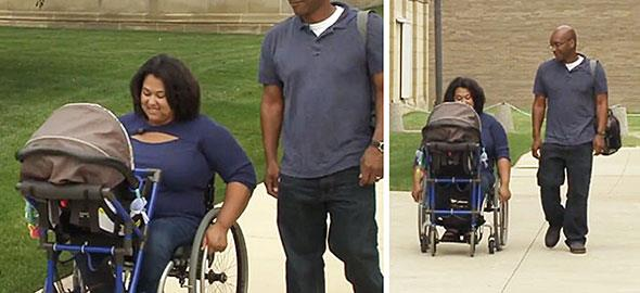 16χρονος έφτιαξε ένα πρωτότυπο παιδικό καρότσι για ανάπηρη μαμά!