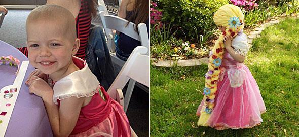 Μαμά κάνει το ομορφότερο δώρο σε κοριτσάκια με καρκίνο