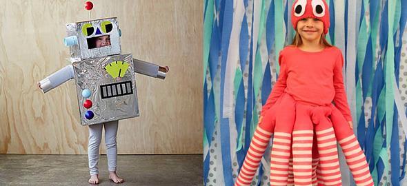 Πώς να φτιάξετε 10 πρωτότυπες, παιδικές αποκριάτικες στολές