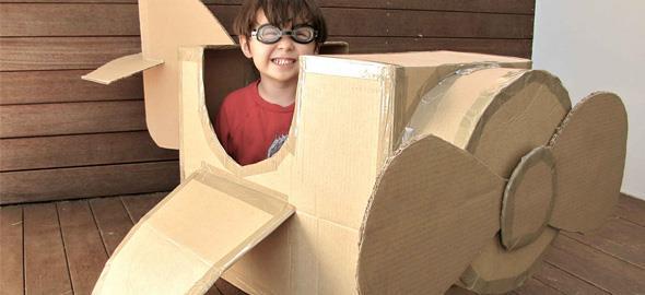 7 εύκολες κατασκευές για να παίζουν τα παιδιά