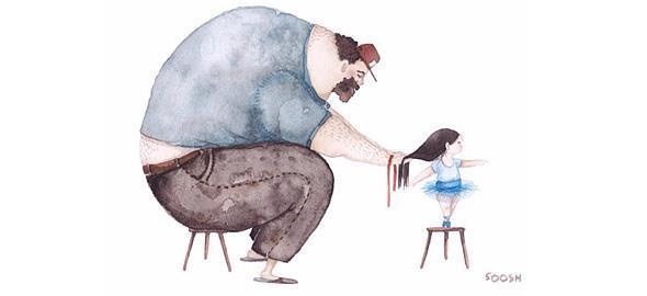 9 τρυφερά σκίτσα που περιγράφουν το μοναδικό δεσμό πατέρα- κόρης