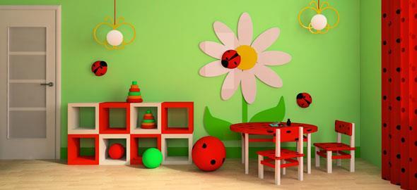 079c21a3937 7 ιδέες για τη διακόσμηση του παιδικού δωματίου