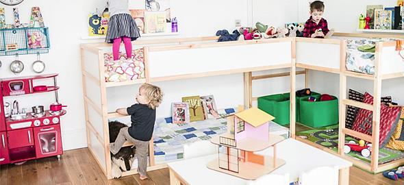 2b53d5a5c21 Παιδικό δωμάτιο για δύο: 12 ιδέες για άνετη συμβίωση