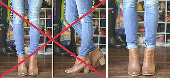 Πώς να φορέσετε σωστά τα μποτάκια