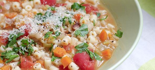 Πώς να φτιάξετε λαχταριστή σούπα μινεστρόνε