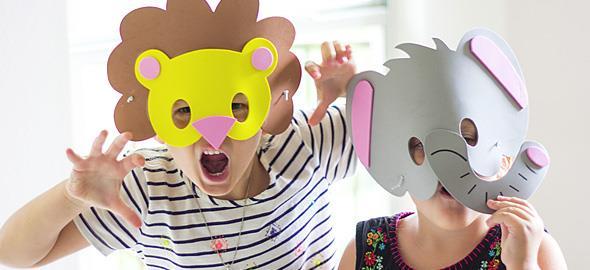 10 ξεχωριστές αποκριάτικες μάσκες που μπορείτε να φτιάξετε με τα παιδιά!