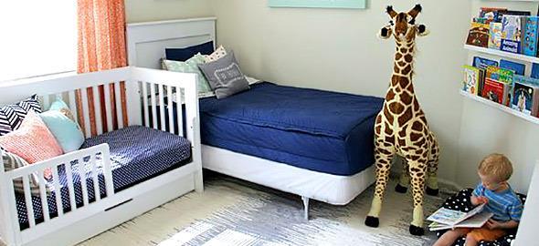 Μωρό και μεγάλο παιδί στο ίδιο δωμάτιο: 14 υπέροχες ιδέες διακόσμησης