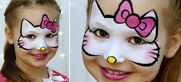 10 εύκολα σχέδια face painting για παιδιά