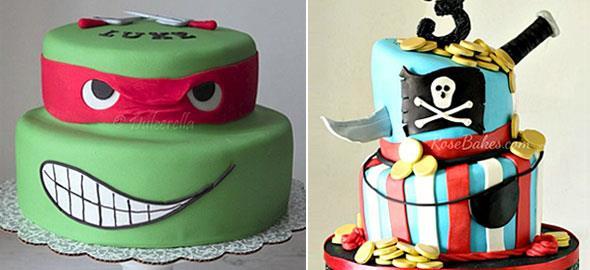 Οι πιο εντυπωσιακές τούρτες γενεθλίων αποκλειστικά για αγόρια
