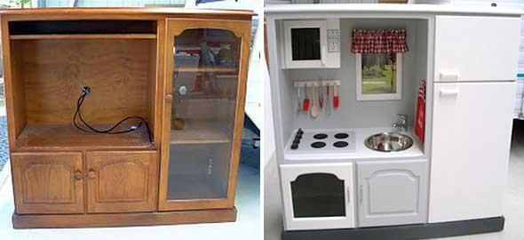 Πώς να μεταμορφώσετε τα παλιά σας έπιπλα και αντικείμενα σε παιχνίδια