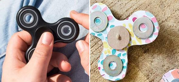 Πώς να φτιάξετε το δικό σας fidget spinner
