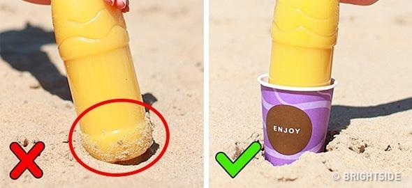 14 έξυπνα κόλπα που θα σας λύσουν τα χέρια στην παραλία