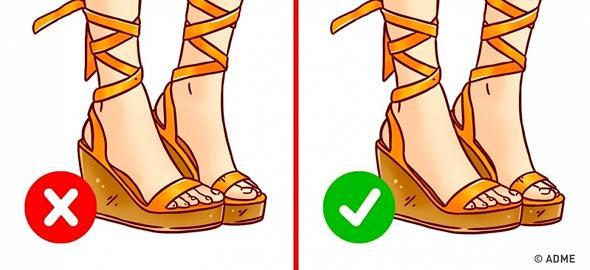 Τα λάθη που κάνετε όταν διαλέγετε καλοκαιρινά παπούτσια