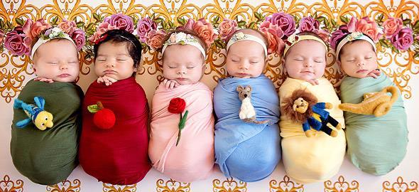 Αυτές οι μικροσκοπικές πριγκίπισσες της Disney είναι ό,τι πιο γλυκό θα δείτε σήμερα