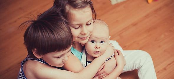 Πώς είναι η ζωή με τρία παιδιά