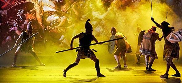 Κερδίστε 5 διπλές προσκλήσεις για την παράσταση «Μέγας Αλέξανδρος»