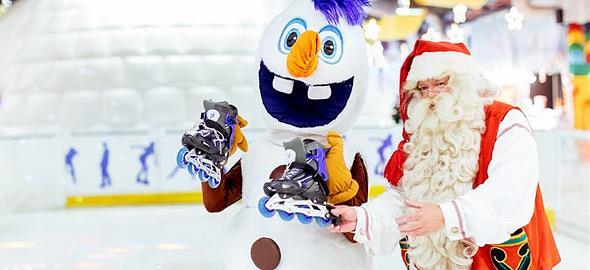 Κερδίστε 5 διπλά βραχιολάκια για το Santa Claus Kingdom από τις 23/12 έως τις 29/12