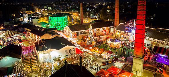 Κερδίστε 12 διπλές προσκλήσεις για τα εγκαίνια του Christmas Factory στις 2/12