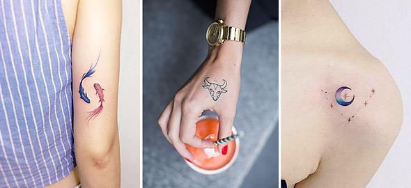 Τα πιο ξεχωριστά σχέδια τατουάζ για το κάθε ζώδιο!