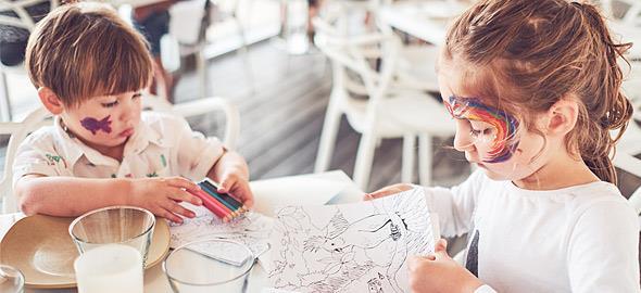 4 εστιατόρια με προγράμματα δημιουργικής απασχόλησης για τα παιδιά