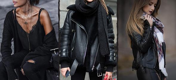 8 tips για όσους έχουν πολλά μαύρα ρούχα στη ντουλάπα τους