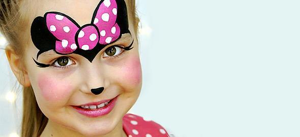 12 εντυπωσιακά αλλά εύκολα σχέδια face painting για τις απόκριες!
