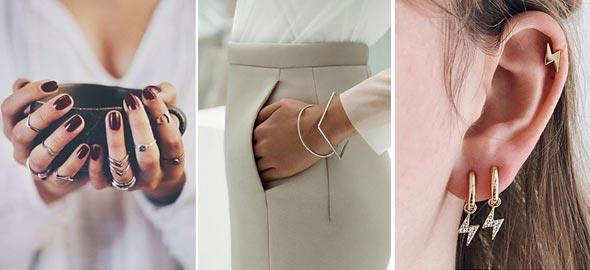 Πώς να φορέσετε σωστά τα minimal κοσμήματα