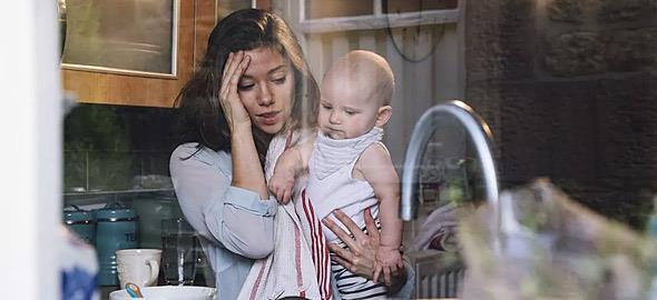 «Προς κάθε μαμά που σήμερα ένιωσε ότι θέλει να τα παρατήσει…»