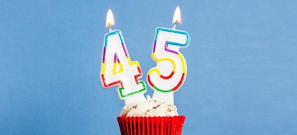«45 μαθήματα ζωής από τα πρώτα 45 χρόνια της ζωής μου»