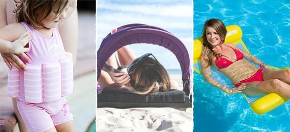 9 απίστευτα αξεσουάρ παραλίας για οικογένειες