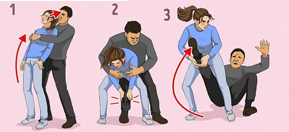Βασικές κινήσεις αυτοάμυνας που κάθε γυναίκα πρέπει να ξέρει