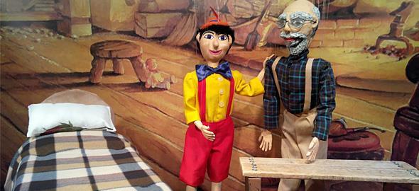 «Πινόκιο»: Η νέα παράσταση του θεάτρου Μαριονέτας Γκότση